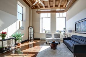 Schuster Lofts Interior Living Room